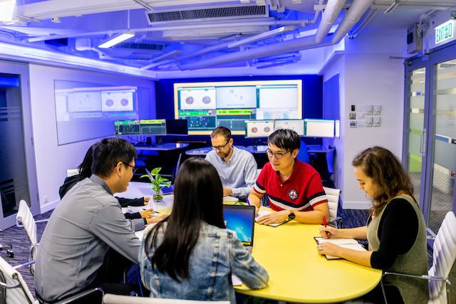 Le centre d'excellence du Luxembourg s'appuiera sur le modèle de la Thales Digital Factory, comme celui-ci à Singapour. (Photo: Thales Alenia Space)