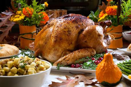La dinde est la pièce maîtresse du repas de Thanksgiving. (Photo: Shutterstock)