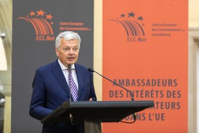 Didier Reynders,European Justice Commissioner (Photo: Romain Gamba/Maison Moderne)