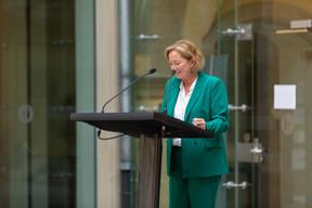 Paulette Lenert, minister for consumer protection. (Photo: Romain Gamba/Maison Moderne)