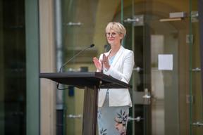 Karin Basenach, director for the European centre for consumers (Photo: Romain Gamba/Maison Moderne)