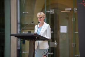 Karin Basenach, director of the European consumers' centre (Photo: Romain Gamba/Maison Moderne)