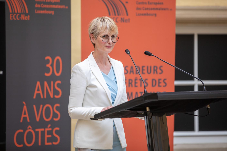 Karin Basenach, director for the European consumers' centre (Photo: Romain Gamba/Maison Moderne)