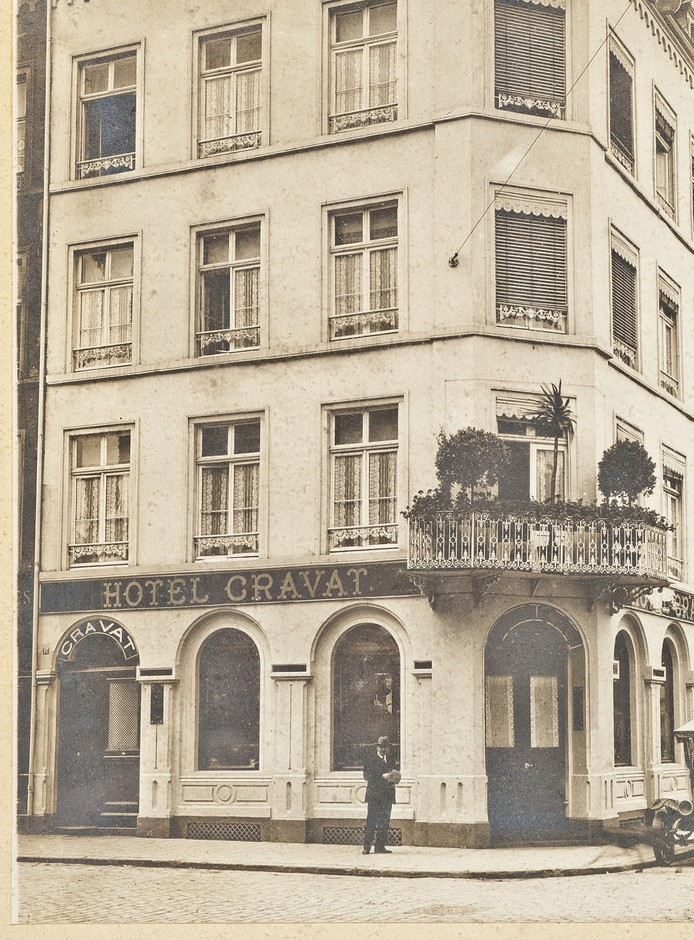 The Hotel Cravat has come a long way since its birth in 1895.  (Photo: Hotel Cravat)