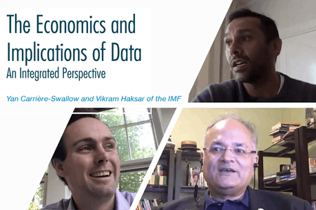 The Economics & Implications of Data with the IMF. (Crédit: LHoFT)