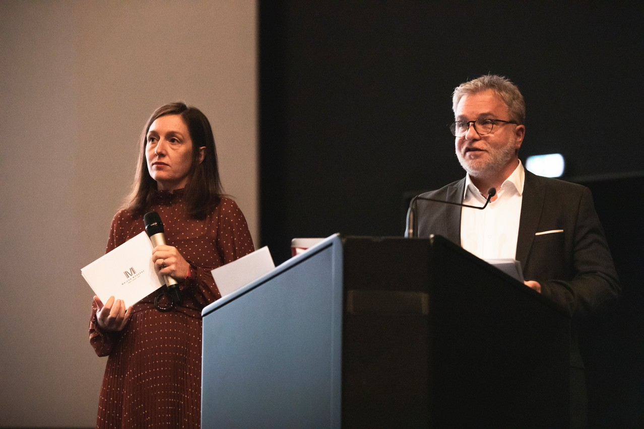 Emmanuelle Thivollard (head of content strategy) and Youcef Damardji (Brand Studio director). (Photo: Simon Verjus/Maison Moderne)
