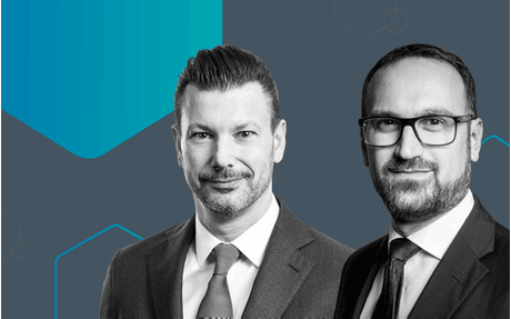 Patrick van Denzen, managing director of TMF Luxembourg ,  and Marco Cipolla, founding partner and managing director of Selectra  Crédit: TMF Group
