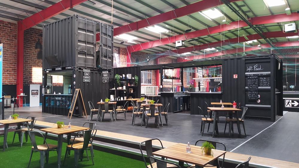 L'espace brasserie du concept situé à Contern. (Photo: The Loft)