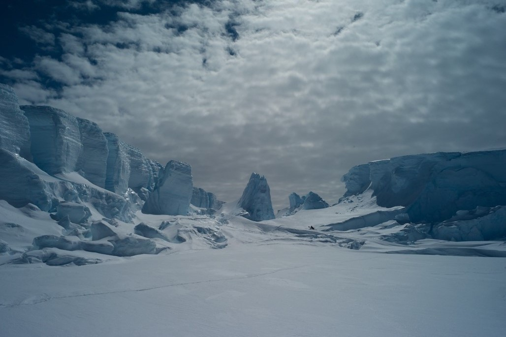 """""""All your relationships with people get screwed up [in Antarctica],"""" Dr Francis said. Photo: Olivier Francis"""