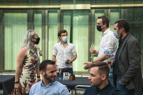 Virginie Ducommun (Campus Contern), Fabian Koepeinig (INEO) et Bastien Claudot (INEO). ((Photo: Matic Zorman/Maison Moderne))
