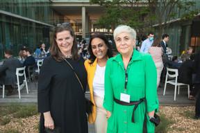 Geraldine Knudson (Maison Moderne), Ana Wiscour-Conter (Maison Moderne) et Carole Tisaurin (JLL) ((Photo: Matic Zorman/Maison Moderne))
