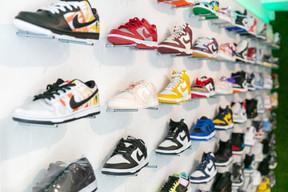 Nike est la marque la plus demandée et donc la plus présente chez The Source. ((Photo: Romain Gamba / Maison Moderne))