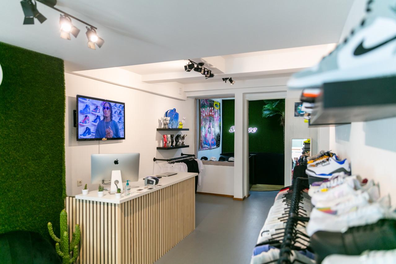 TheSource vend les sneakers limitées les plus recherchées. (Photo: Romain Gamba/Maison Moderne)