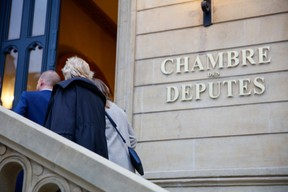 The chamber of deputies, located in the rue du Marché-aux-Herbes, is back in use after a hiatus caused by the sanitary crisis. (Photo: Romain Gamba/Maison Moderne)