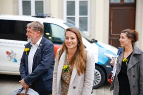 The deputy Chantal Gary (déi Gréng). (Photo: Romain Gamba/Maison Moderne)