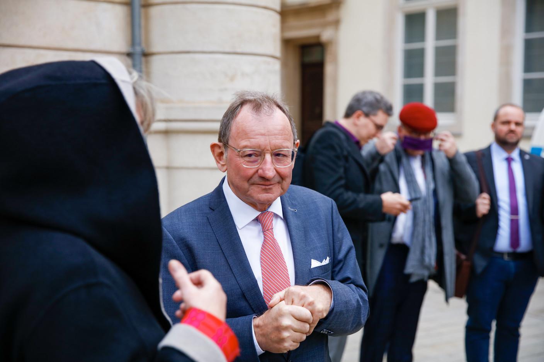 Fernand Etgen, president of the chamber of deputies. (Photo: Romain Gamba/Maison Moderne)