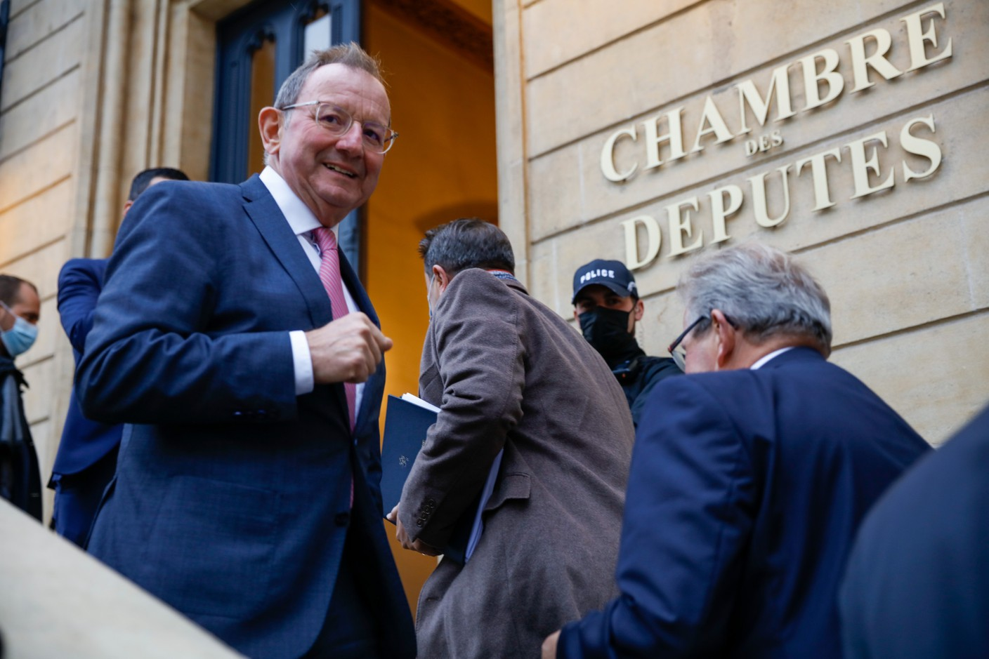 Fernand Etgen, president of the chamber of deputies (Photo: Romain Gamba/Maison Moderne)