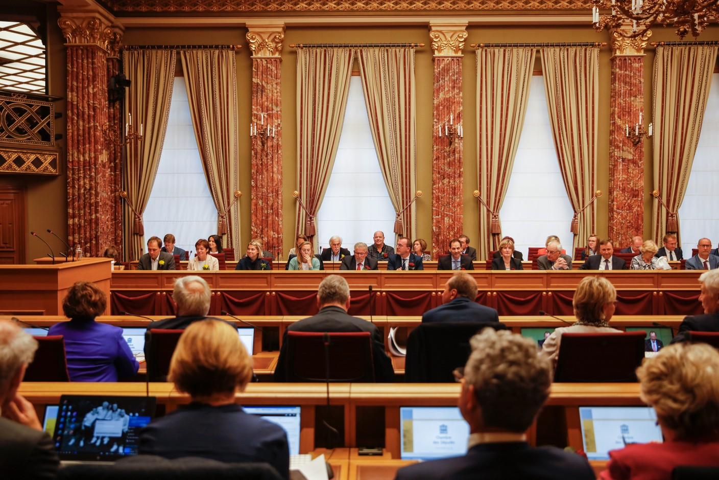 The state of the nation address is the highlight of the new political year. (Photo: Romain Gamba/Maison Moderne)
