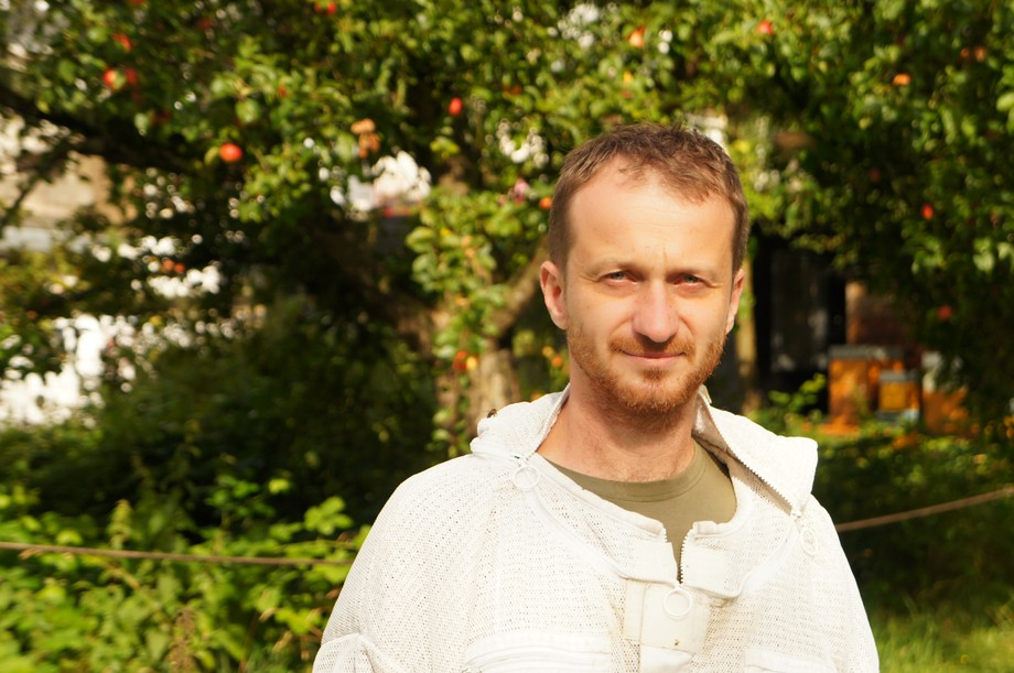 Hugo Zeler, pictured, founded Hunneg Këscht, an apiary firm based almost exclusively in Luxembourg City Jess Bauldry