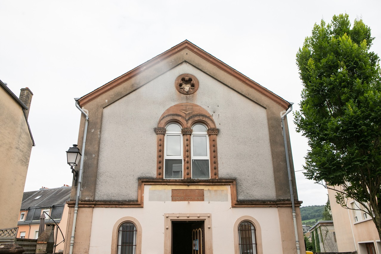 The Old Synagogue in Ettelbruck first opened in 1870 and survived the Nazi occupation during WW2 Matic Zorman / Maison Moderne