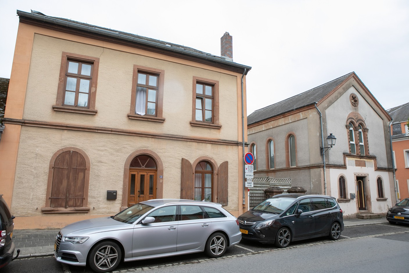 The Old Synagogue and Jewish school in Ettelbruck Matic Zorman / Maison Moderne