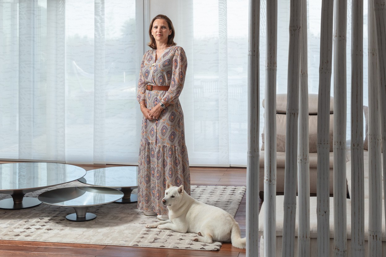 Angélique Sabron is passionate about property. Photo: Romain Gamba / Maison Moderne