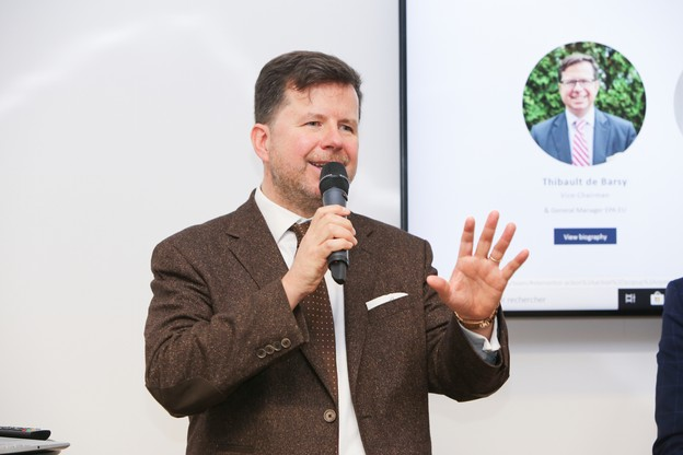 Thibault de Barsy est à la tête d'une nouvelle association européennedes acteurs du paiement qui s'implante au Luxembourg. (Photo: Romain Gamba / Maison Moderne)
