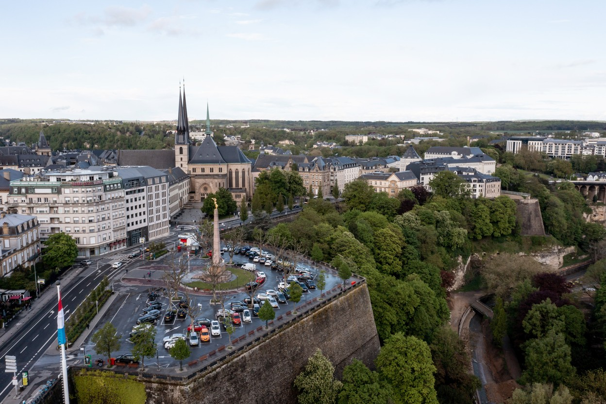 View of Luxembourg City. The grand duchy's current constitution dates to 1868 although there have been several updates since Photo: Sophie Margue / EU