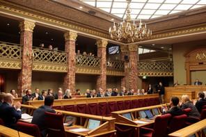À la Chambre, près d'un député sur trois est une femme. (Photo d'archives: Matic Zorman / Maison Moderne)