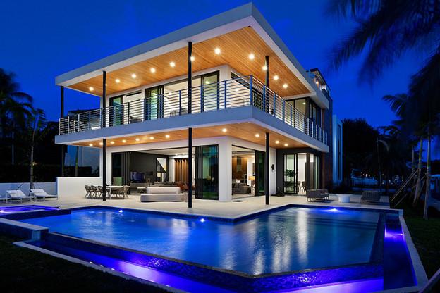 Une des villas que «La Vie est belle» commercialise à Miami, via le fonds Premium de WeInvest. (Source: La Vie est belle)