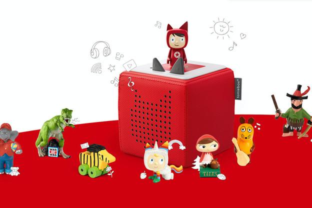 Les petites figurines à connecter à une enceinte pour écouter des histoires intéressent les promoteurs de la Spac468, qui sont les fondateurs deDelivery Hero, Zalando, ou encore HelloFresh. (Photo: Tonies)