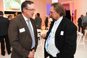Patrick Schnell (Total Luxembourg) et Jean Fetz (Paerd's Atelier) ((Photo: Total Luxembourg))