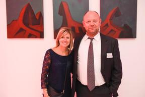 Sofie Maene (Total Luxembourg) et Nicolas Hormain (natur&ëmwelt) ((Photo: Total Luxembourg))