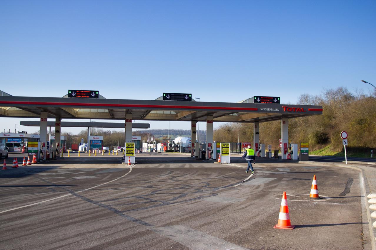 L'ancienne concession d'Esso, située sur l'A1/E44 en direction de Trèves, sera donc la 44e station-service du réseau TotalEnergies au Luxembourg. (Photo: Total/Christophe Steichen)