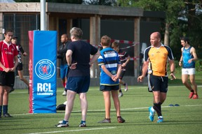 Touch is a non-contact form of rugby Photo: RCL Touch