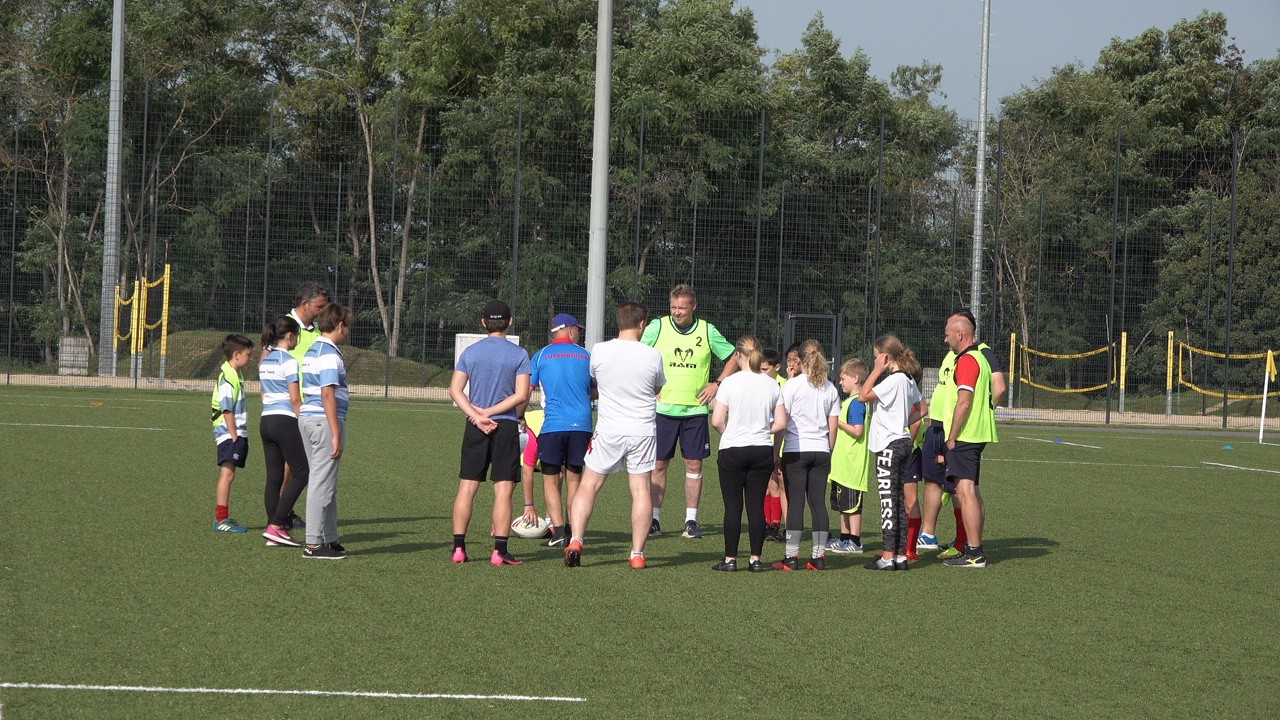 Eight teams played in the competition Photo: RCL Touch