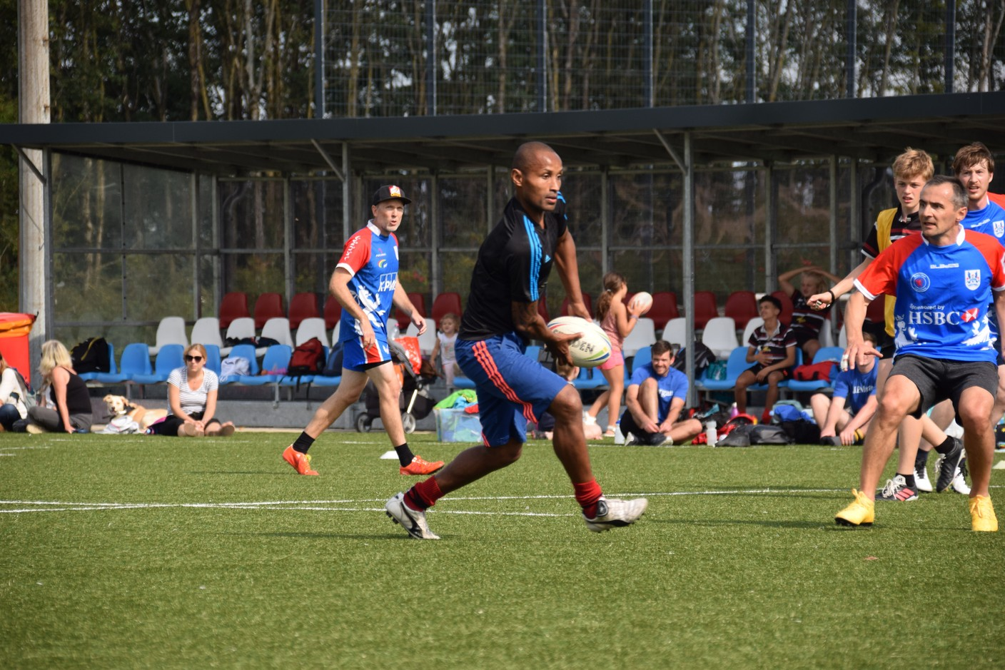 The Kick Cancer into Touch tournament took place on 19 September Photo: RCL Touch