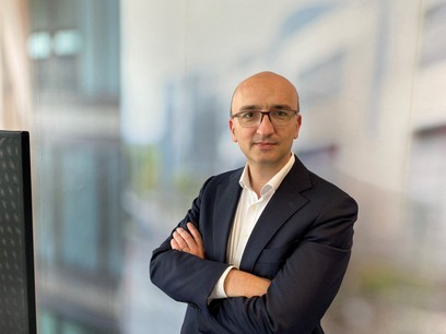 Pierre Mottion, Head of DLT and Strategy – Clearstream. (Photo: Clearstream)
