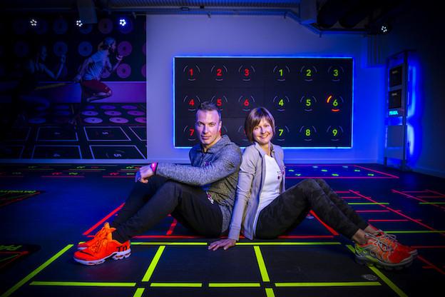 Frédéric Meyer et Laurence Clasen dans une des salles de Touch&Play à Luxembourg. (Photo: Touch&Play)