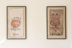 US issued sacks of flour are part of the historical collection there US Embassy Luxembourg