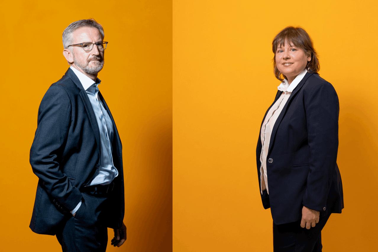 Camille Thommes etCorinne Lamesch,directeur général et présidente de l'Afli. (Photo: Jan Hanrion/Maison Moderne)