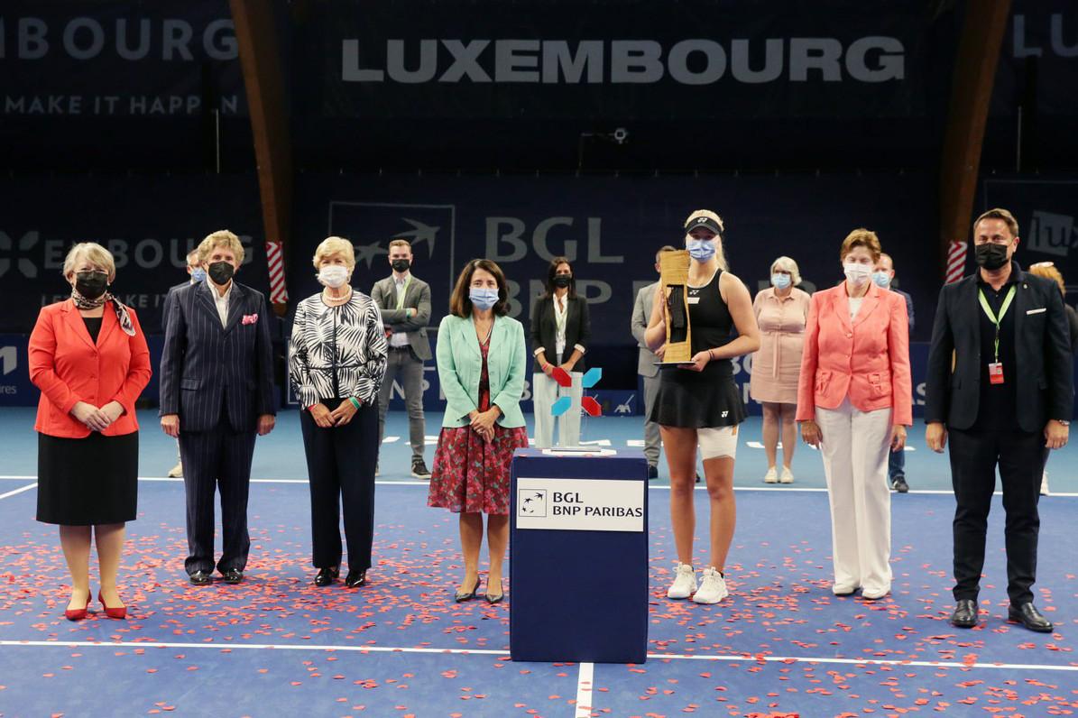 La 25eédition du tournoi de tennis du Luxembourg Open était la dernière sous cette forme. (Photo: Fern Konnen/Facebook WTA)
