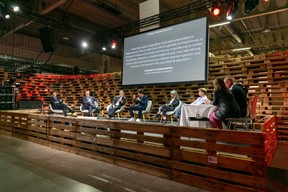 Six experts et professionnels du secteur: MaxLeners, aussi Sara Noel Costa de Araujo, OlivierBastin, JacquesBrauch, MarcGiorgetti et AntoinePaccoud. ((Photo: Romain Gamba/Maison Moderne))
