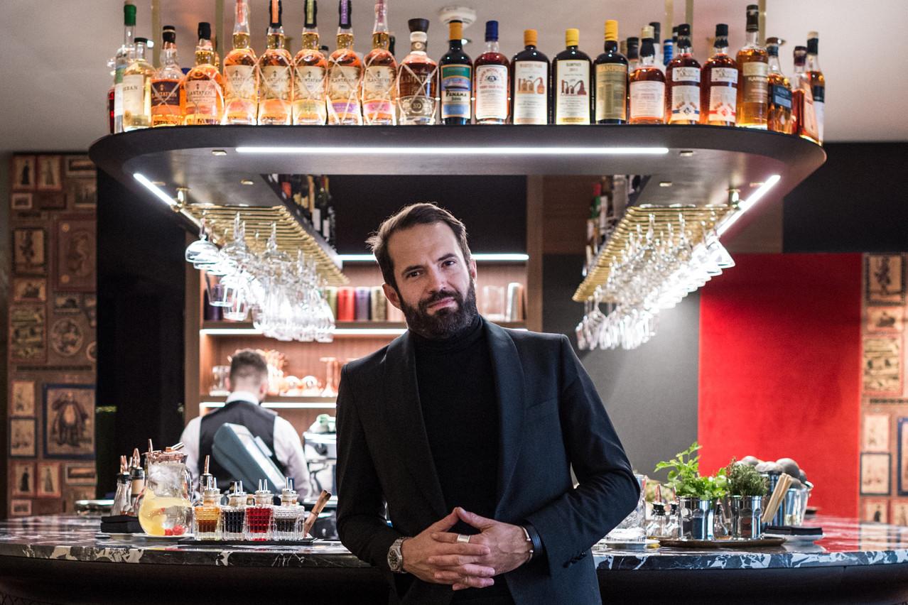 Gabriel Boisante, cafetier-restaurateur. (Photo: Mike Zenari/Maison Moderne)