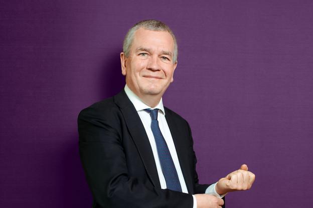 Pierre Etienne, président du Private Banking Group Luxembourg de l'ABBL. (Photo: Matic Zorman / Maison Moderne)