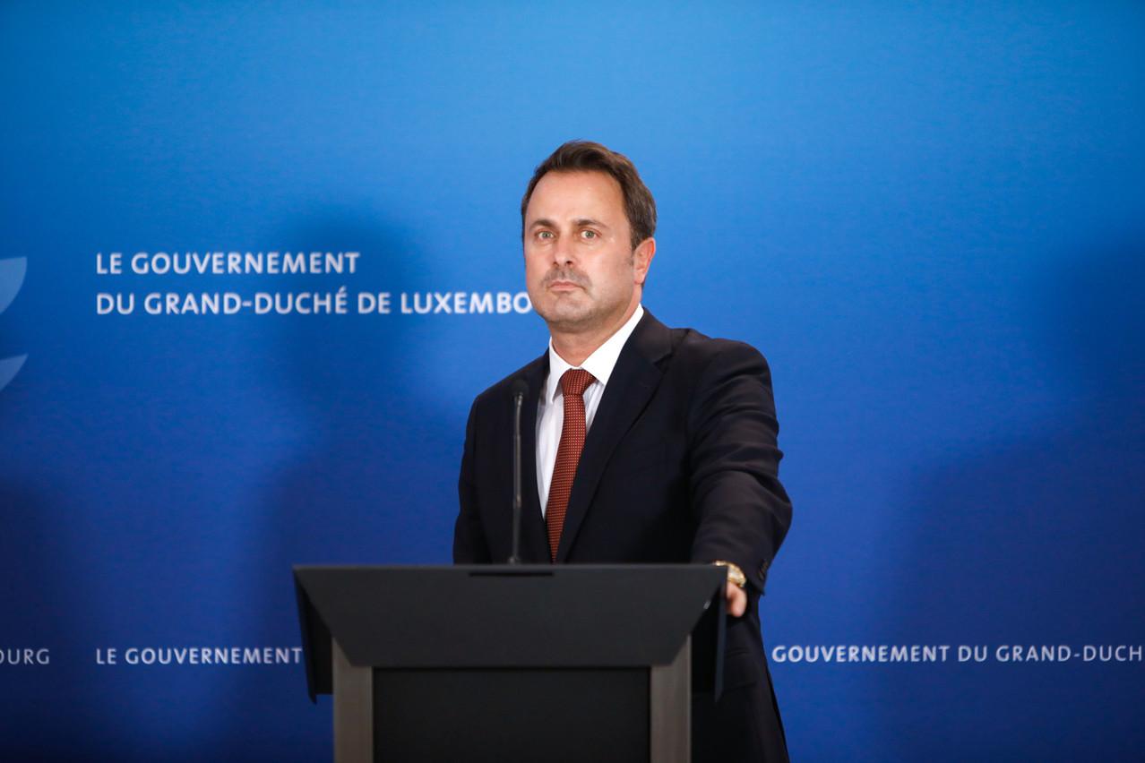 Xavier Bettel veut garder le cap, quitte à ne pas être populaire, a-t-il affirmé lors d'une table ronde organisée par Luxembourg for Finance. (Photo: Romain Gamba/Maison Moderne)