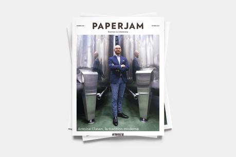 Antoine Clasen en couverture du nouveau Paperjam. (Photo: Andrés Lejona/Maison Moderne)