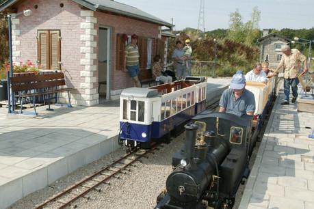 C'est à Esch-sur-Alzette que se trouve un circuit pour train à vapeur miniature. (Photo: Redrock.lu)