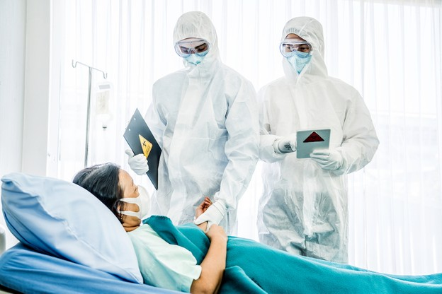 Un premier patient a été recruté jeudi 30 avril au CHL, sur les 60 qui permettront d'évaluer l'efficacité de quatre traitements contre le Covid-19. (Photo: Shutterstock)