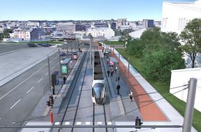 Ne dites plus Dernier Sol mais «Lechte Steiwer»: l'arrêt sera situé à l'entame de la nouvelle N3, située entre l'actuelle route de Thionville et le Rangwee. ((Photo: Administration des ponts et chaussées))